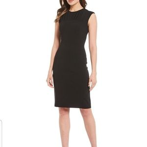 Black Sheath Dress - Calvin. Klein